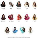 CelinaTex Korfu Peignoir De Bain Capuche De Couleur Unie Court Poches Latérales Femme Sherpa Polaire XS-XXXL de la marque CelinaTex image 2 produit