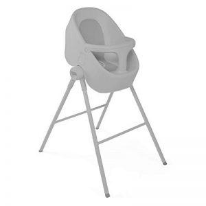 Chicco Baignoire-Douche Bubble Nest - Solution évolutive et transformable pour le bain de bébé utilisable en douche ou baignoire - Coloris Cool Grey de la marque Chicco image 0 produit