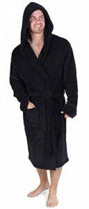 CityComfort Robe de Chambre Homme à Capuche en Molleton Super Doux de la marque CityComfort image 0 produit