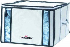 COMPACTOR Housse de Rangement Sous Vide, RAN3254, BLANC, 125L, 42x40xH.25 de la marque Compactor image 0 produit