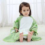 COOKY.D Unisexe Bébé Poncho Serviette de Bain Robe à Capuche pour 0-6 Ans de la marque COOKY.D image 4 produit