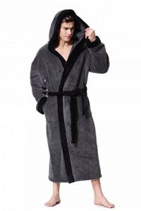 COSMOZ Peignoir/Robe de Chambre Homme Haut de Gamme en Polaire Velours de la marque COSMOZ image 0 produit