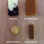 Cosmétiques bio solides - zéro déchet et made in France. Déodorant, Shampoing, Dentifrice et Savon, pour des mois d'utilisation. de la marque Nos Mondes Alternatifs image 2 produit