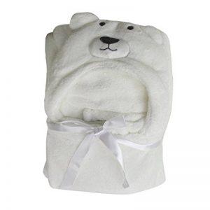 Couverture de bébé serviettes de bain doux animal Strandkorb Wrap Peignoirs Poncho bébé Enfants Garçons Filles 100*70CM de la marque GudeHome image 0 produit