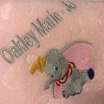 Couverture en polaire pour bébé personnalisée de la marque Abbey's Craft Studio image 1 produit