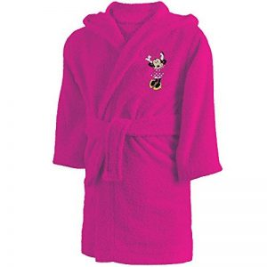 CTI - Disney - Peignoir Minnie Cœur 2/4 Ans 100% Coton, Rose, 60 x 38 cm de la marque CTI image 0 produit