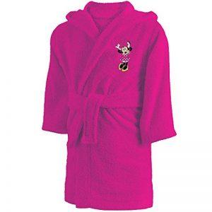 CTI - Disney - Peignoir Minnie Cœur 6/8 Ans 100% Coton, Rose, 72 x 56 cm de la marque CTI image 0 produit