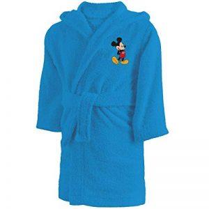 CTI Peignoir 6/8 Ans Disney Mickey Star, 100% Coton Bouclette, Bleu de la marque CTI image 0 produit