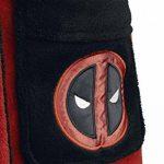 Deadpool Peignoir de Bain Adulte Officiel Marvel Polaire - - ROUGE/NOIR - Taille Unique de la marque Groovy image 3 produit