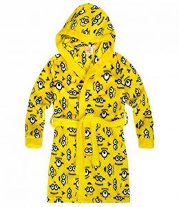 Despicable Me Garçon Robe de chambre à capuche polaire, toucher doux 2016 Collection - jaune de la marque MINIONS image 0 produit
