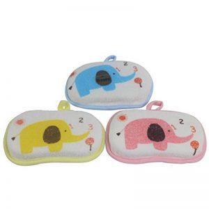 Dianoo 3 PCS Éponge De Bain Pour Bébés, Brosse De Douche Pour Enfant, Mélange De Bain Mignon Et Pur En Coton (Couleurs aléatoires) de la marque Dianoo image 0 produit