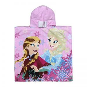 Disney Frozen Serviette de Plage à Capuche Poncho pour Enfant Rose de la marque Disney image 0 produit