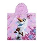 Disney Frozen Serviette de Plage à Capuche Poncho pour Enfant Rose de la marque Disney image 1 produit