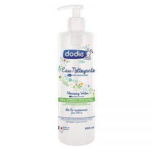 DODIE Eau nettoyante 3en1 - flacon pompe 500ml de la marque Dodie image 0 produit