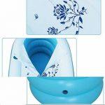 Dongyunhaishop Baignoire Gonflable Pliable Gonflable pour Adulte Bleu de la marque Dongyunhaishop image 3 produit