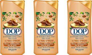 Dop - Shampooing Très Doux 2 en 1 à l'Huile d'Argan Pour Cheveux Méditerranéens Secs ou Frisés - 400 ml - Lot de 3 de la marque DOP image 0 produit