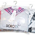 DOROTA Peignoir/Robe de Chambre Tendance, en Coton Souple, avec Poches, Zip et Capuche de la marque DOROTA image 4 produit