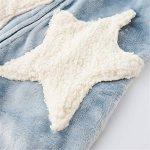 DUJUN Kimono Peignoir de Bain Légère col V Pyjama pour l'hôtel Spa Sauna Vêtements de Nuit,Épaississement de Corail et Longue Section en Flanelle Grande Taille à Capuche A-4 XL de la marque DUJUN image 3 produit