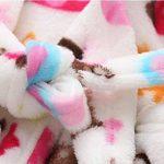 ECHERY Unisexe Filles Garçons à Capuche Peignoir Doux Coral Fleece Pyjamas Enfants Chemise de Nuit Robe de Chambre Vêtements De Nuit de la marque ECHERY image 4 produit
