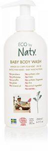 Eco by Naty, Bouteille de gel lavant écologique pour bébé, 200ml. de la marque Eco by Naty image 0 produit