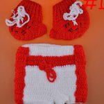 ENCOCO BéBé Boxer Gants Photographie Props Nouveau-Né SéAnce Photo Tenues Crochet Costume Infant GarçOn Fille Tricoté Gant De Boxe Couche Ensemble de la marque ENCOCO image 1 produit