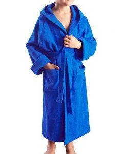 Enfants Peignoir, Couleur : Bleu Roi, Taille: 152 de la marque Arus image 0 produit