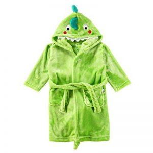 Enfants Peignoir Robe de Chambre Flanelle Chemise de Nuit Garçons Filles Dinosaure Pyjamas de la marque Vine image 0 produit