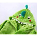 Enfants Peignoir Robe de Chambre Flanelle Chemise de Nuit Garçons Filles Dinosaure Pyjamas de la marque Vine image 3 produit