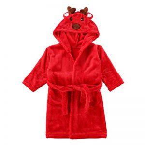 Enfants Peignoir Robe de Chambre Flanelle Noël Renne Pyjamas Garçons Filles Chemise de Nuit de la marque Vine image 0 produit