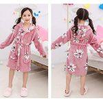Enfants Petit Garçon Fille Flanelle Peignoir Robe de Chambre Chaud Manches Longues Floral Vêtements De Nuit d'hiver de la marque YAOTT image 4 produit