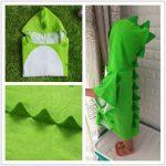 Enfants serviette de bain robe enfants capuche plage natation poncho dinosaure de la marque DRCOOL image 1 produit