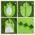 Enfants serviette de bain robe enfants capuche plage natation poncho dinosaure de la marque DRCOOL image 2 produit