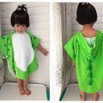Enfants serviette de bain robe enfants capuche plage natation poncho dinosaure de la marque DRCOOL image 3 produit