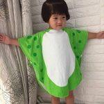 Enfants serviette de bain robe enfants capuche plage natation poncho dinosaure de la marque DRCOOL image 4 produit