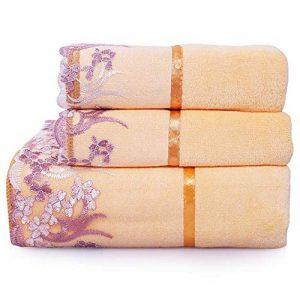 ensemble de serviette de bain TOP 4 image 0 produit