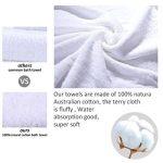 ensemble de serviette de bain TOP 6 image 2 produit