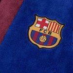 FC Barcelona - Robe de chambre à capuche thème football - polaire - garçon de la marque F-C-Barcelona image 2 produit