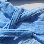 FEETOO] Peignoir prénom garçon brodé avec Une Robe de Chambre 100% Coton de la marque FEETOO image 3 produit