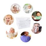 feibi Serviette de Toilette bébé en Bambou Bambou Biologique Naturel (Blanc) de la marque feibi image 1 produit