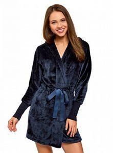 Femme Robe de Chambre à Capuche et Lien Coulissant de la marque oodji-Ultra image 0 produit