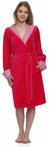 Femmes Peignoir de Bain avec Capuche Hearts de la marque Merry-Style image 0 produit