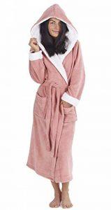 Femmes Peignoir Pingouin Chouette de pour Femme Robes en Peluche Robe Fantaisie Animal Capuche Super Doux au Toucher en Polaire Peignoir à Capuche - Cadeau Parfait pour Elle de la marque CityComfort image 0 produit