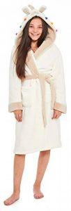 Filles Lama Robe de Chambre Polaire Chaud Enfants Vêtement de Nuit Détente Capuche - Taille 7 à 13 Ans de la marque Slumber+Hut image 0 produit