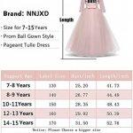 Filles Pageant Broderie Robe de Bal Princesse Robe de mariée de la marque NNJXD image 2 produit