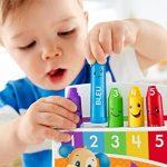 Fisher-Price Les Crayons émotifs jouet pour apprendre à bébé les émotions, les couleurs et les chiffres, avec chansons et phrases, 18 mois et plus, FBP44 de la marque Fisher-Price image 2 produit