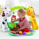 Fisher-Price Tapis de jeu évolutif musical pour bébé avec plus de 12 activités et jouets, dès la Naissance, CCB70 de la marque Fisher-Price image 3 produit