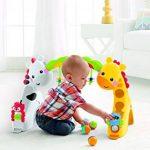Fisher-Price Tapis de jeu évolutif musical pour bébé avec plus de 12 activités et jouets, dès la Naissance, CCB70 de la marque Fisher-Price image 4 produit