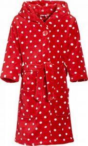 Fleece-Bademantel Punkte Peignoir Fille de la marque Playshoes image 0 produit