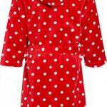 Fleece-Bademantel Punkte Peignoir Fille de la marque Playshoes image 1 produit