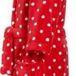 Fleece-Bademantel Punkte Peignoir Fille de la marque Playshoes image 3 produit